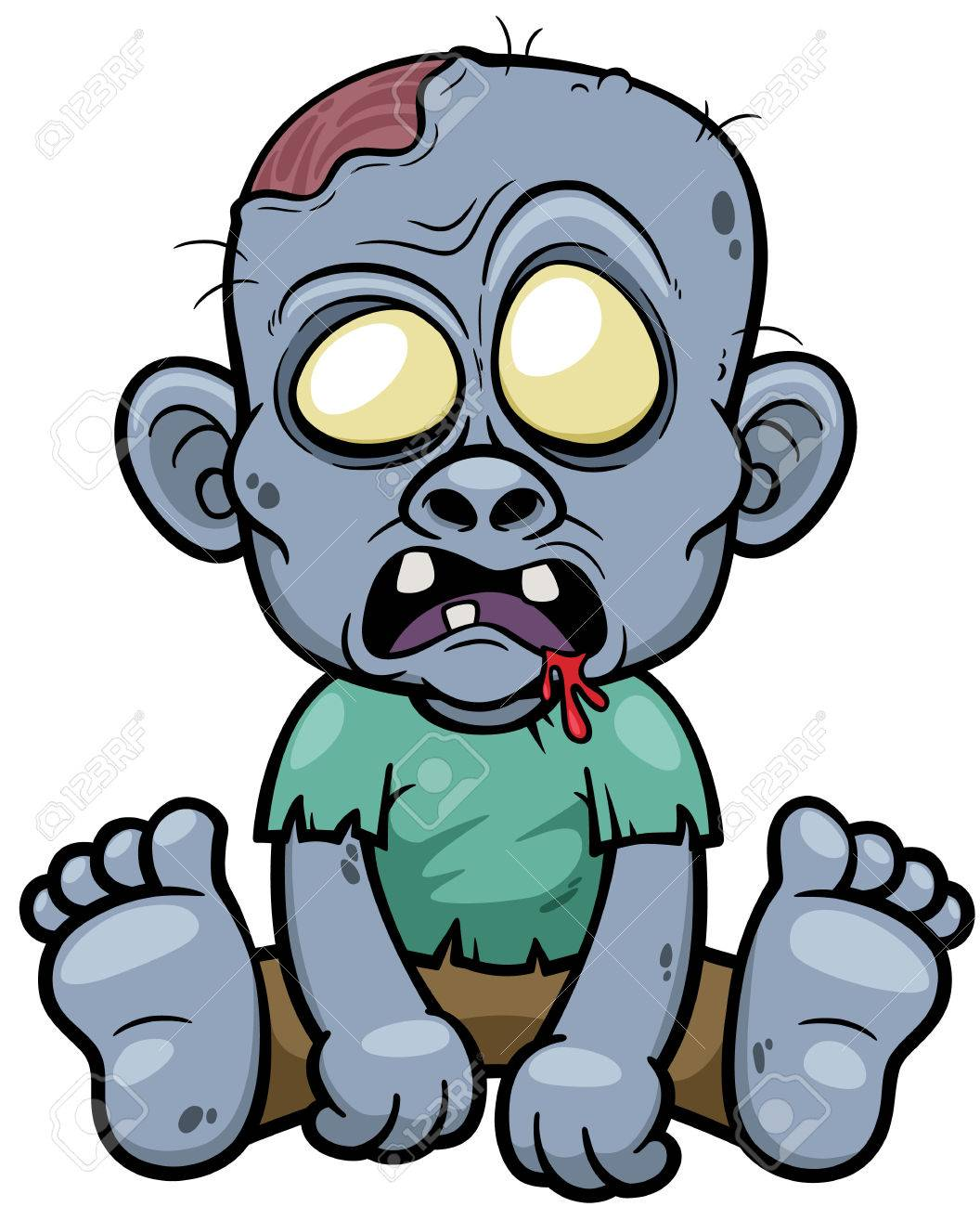 Image result for zombie  cartoon