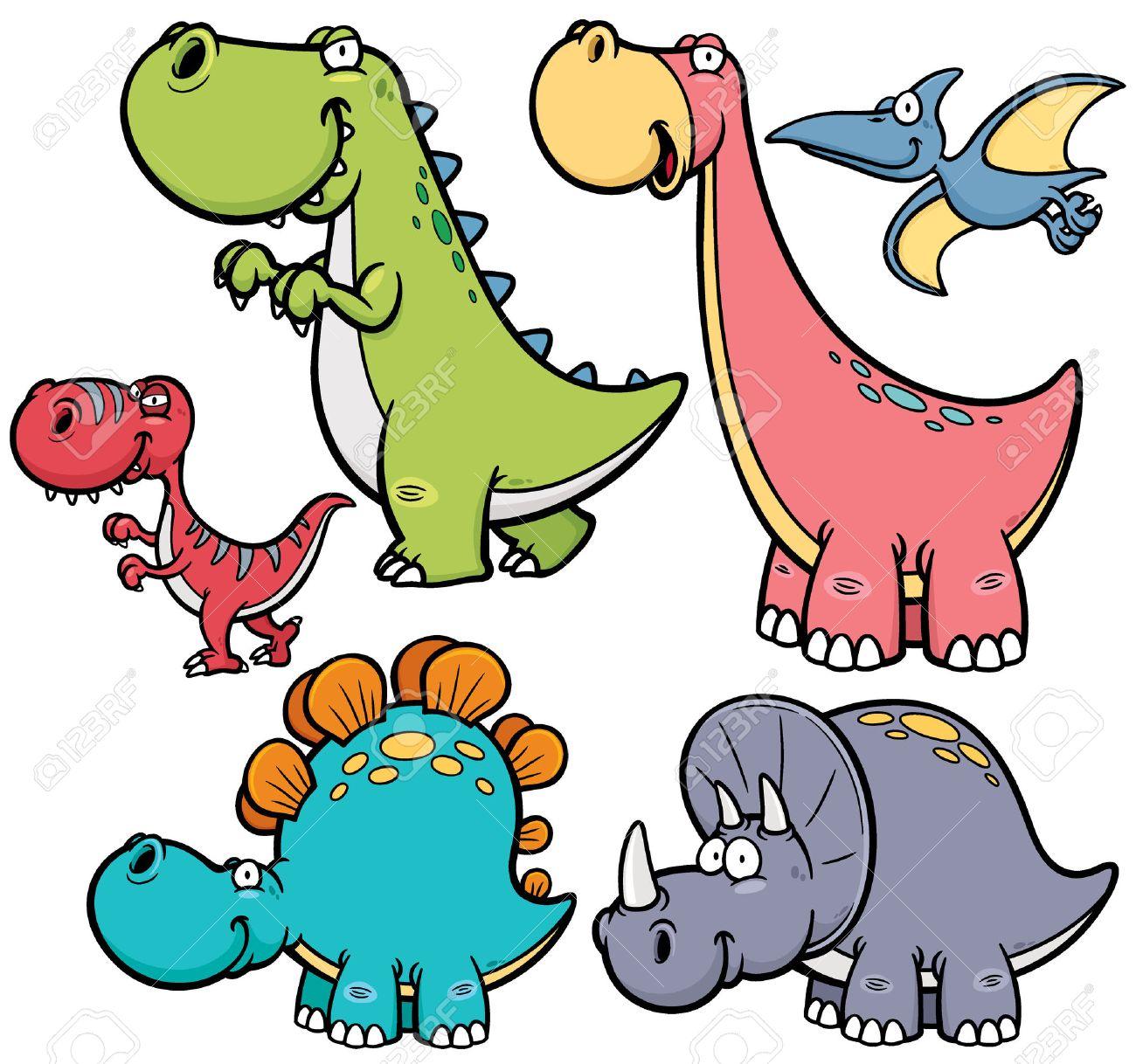 Ilustracion Vectorial De Personajes De Dibujos Animados Dinosaurios Ilustraciones Vectoriales Clip Art Vectorizado Libre De Derechos Image 32099151 Todos los gráficos animados de dibujos para colorear dinosaurios son totalmente gratuitos y se pueden enlazar directamente, descargar o compartir a través de tarjetas virtuales. ilustracion vectorial de personajes de dibujos animados dinosaurios