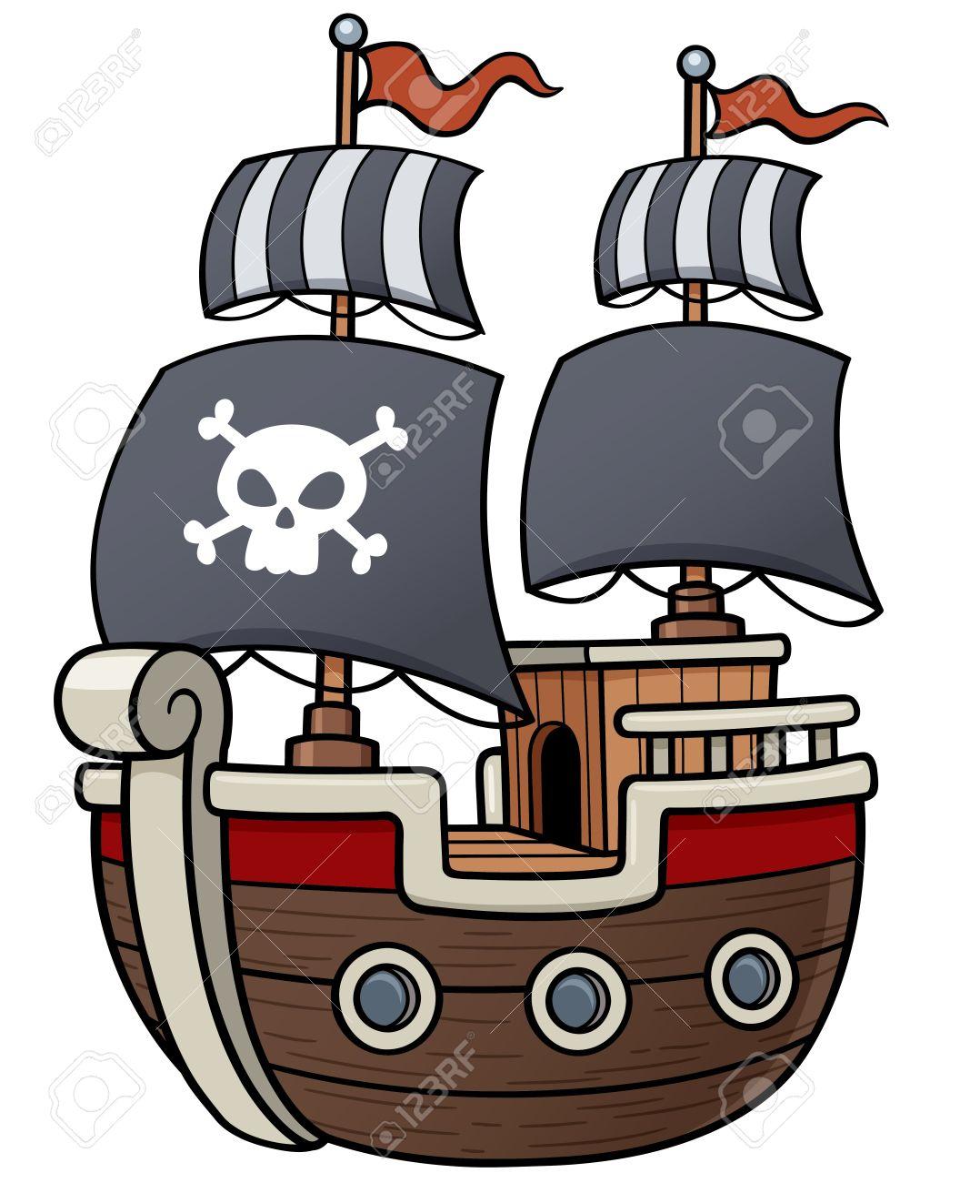 海賊船のベクトル イラストのイラスト素材ベクタ Image 41263368