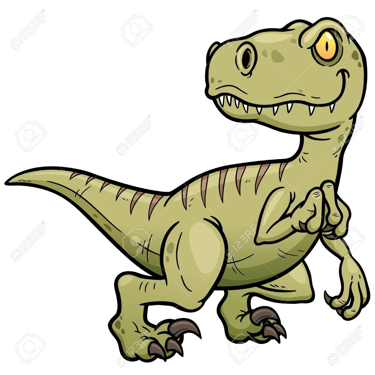 Vector illustration of Dinosaurs cartoon - 43673855