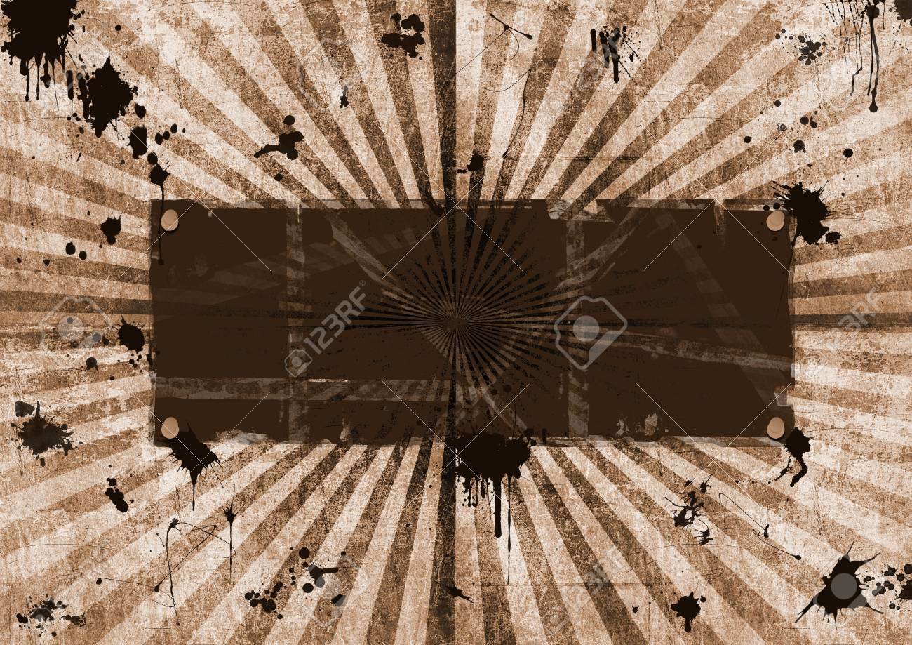 Grunge frame, textured vintage look Stock Photo - 6114441