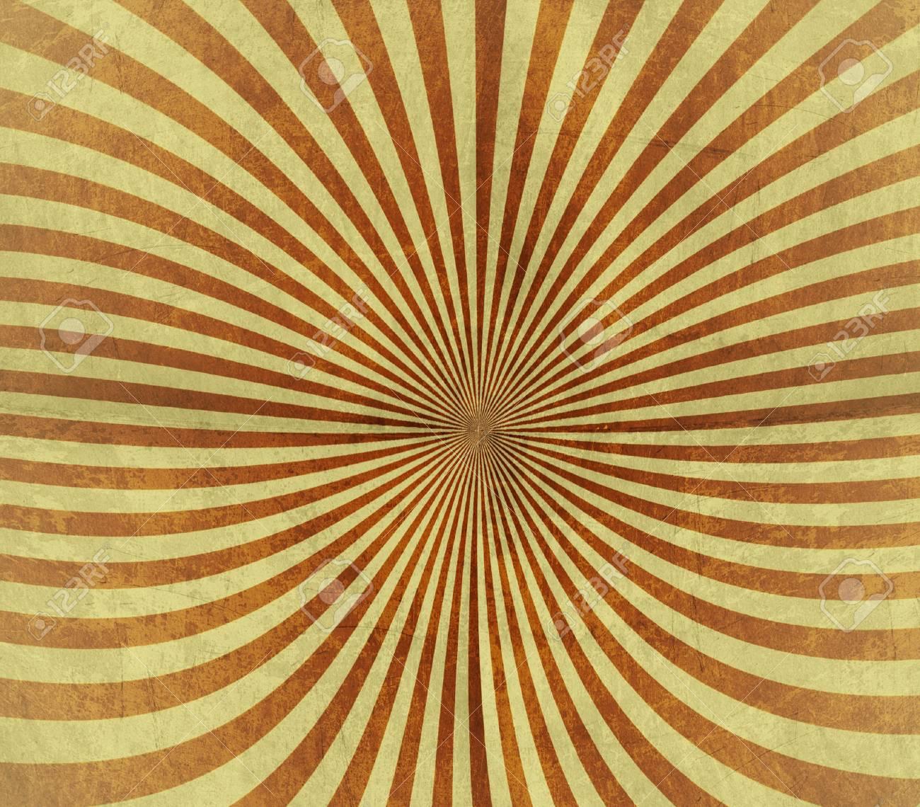vintage rays pattern background Stock Photo - 7040836
