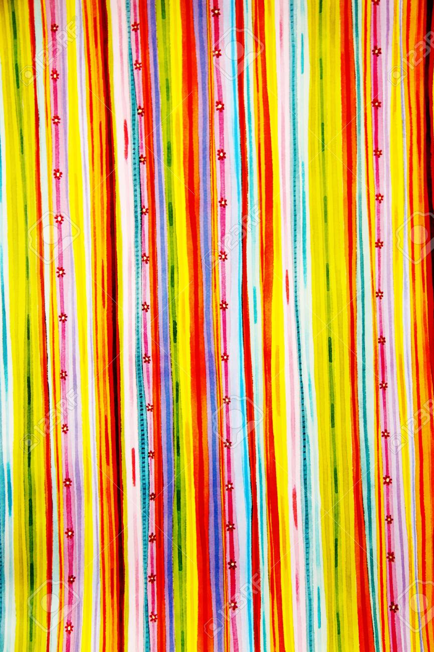 retro colored striped background Stock Photo - 7631844