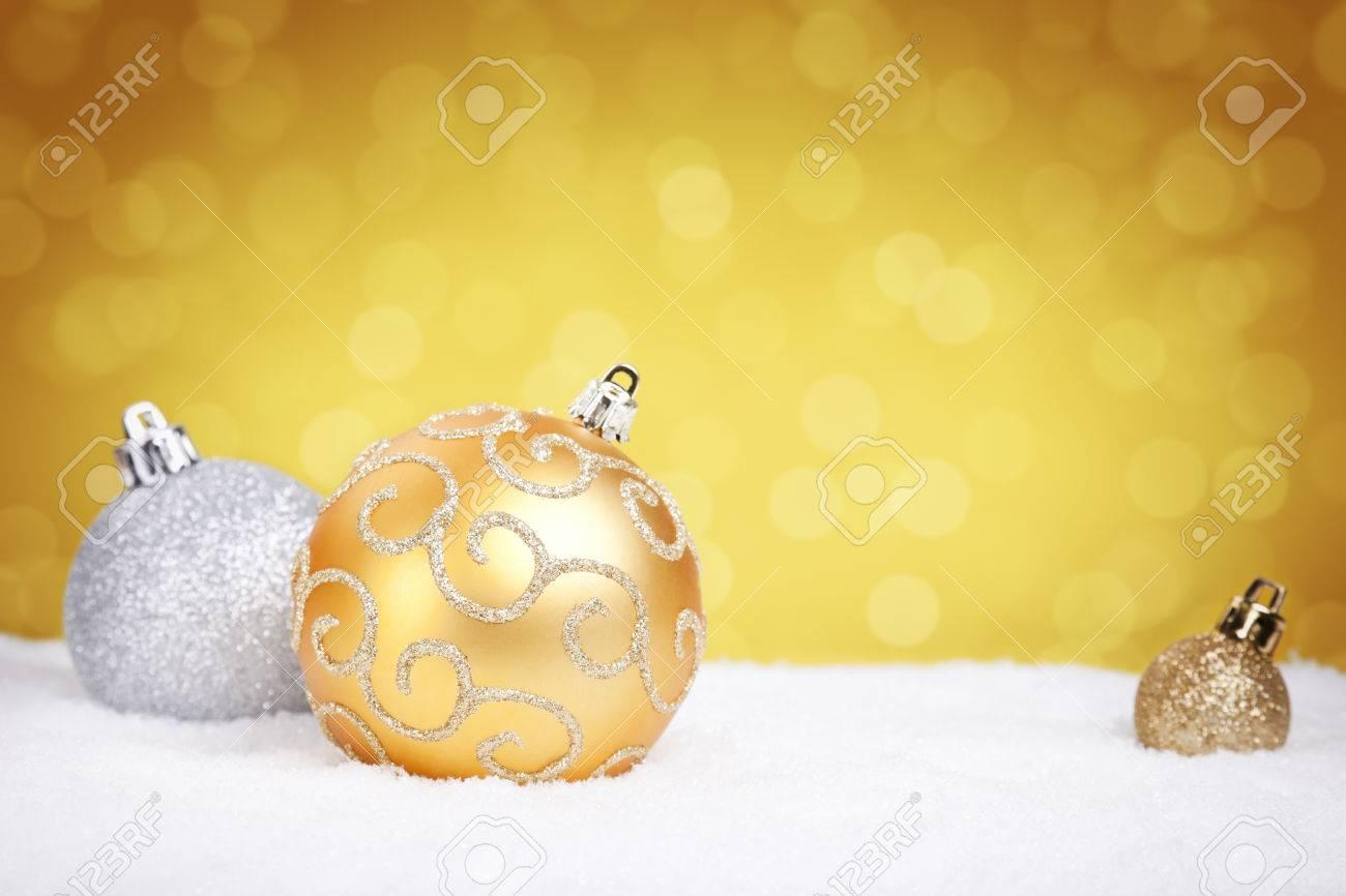 Sfondi natalizi dorati