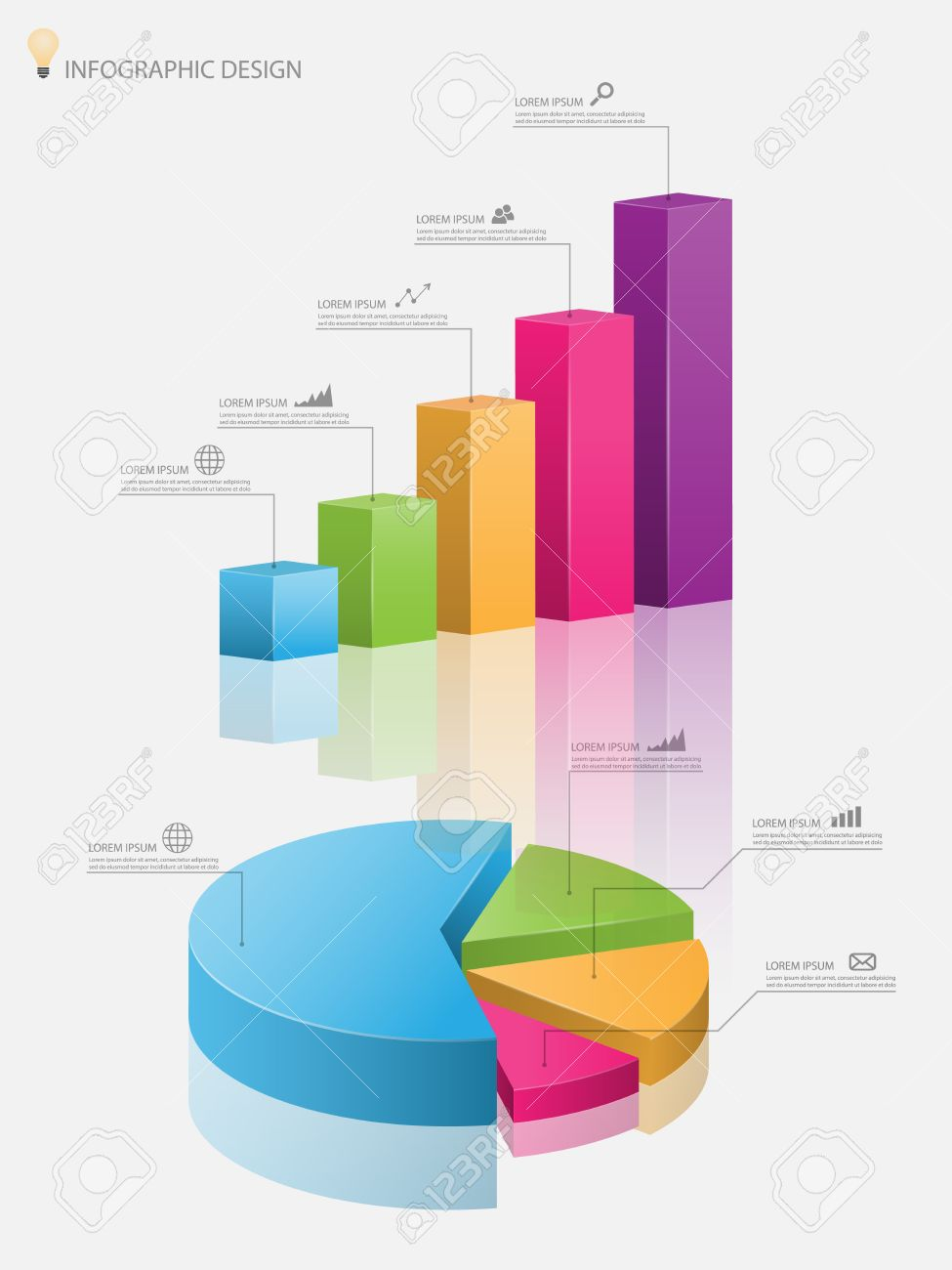 3d pie chart graph3d graphctor illustration royalty free 3d pie chart graph3d graphctor illustration stock vector 36846624 nvjuhfo Choice Image
