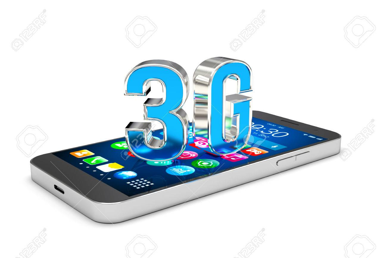 Smartphone With 3G Wireless Co...