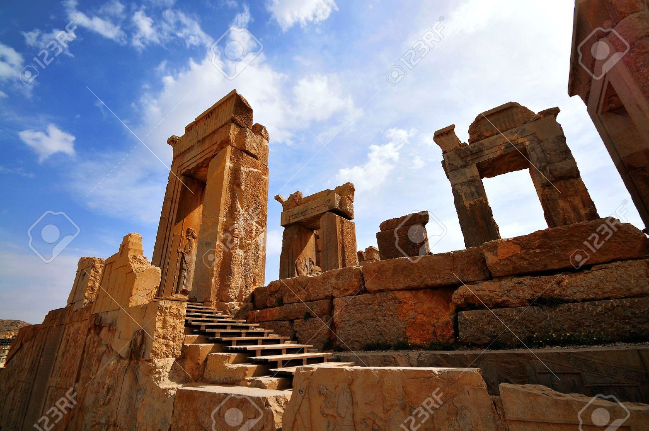 Persepolis Shiraz Iran Stock Photo Picture And Royalty Free Image Image 7202326