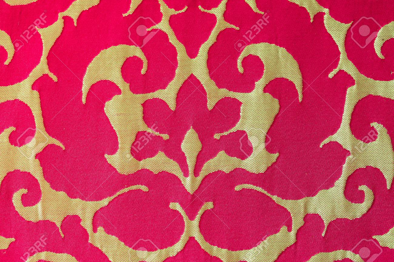 Close Up Pattern Of Sofa Fabric Sofa Fabric Texture Stock Photo