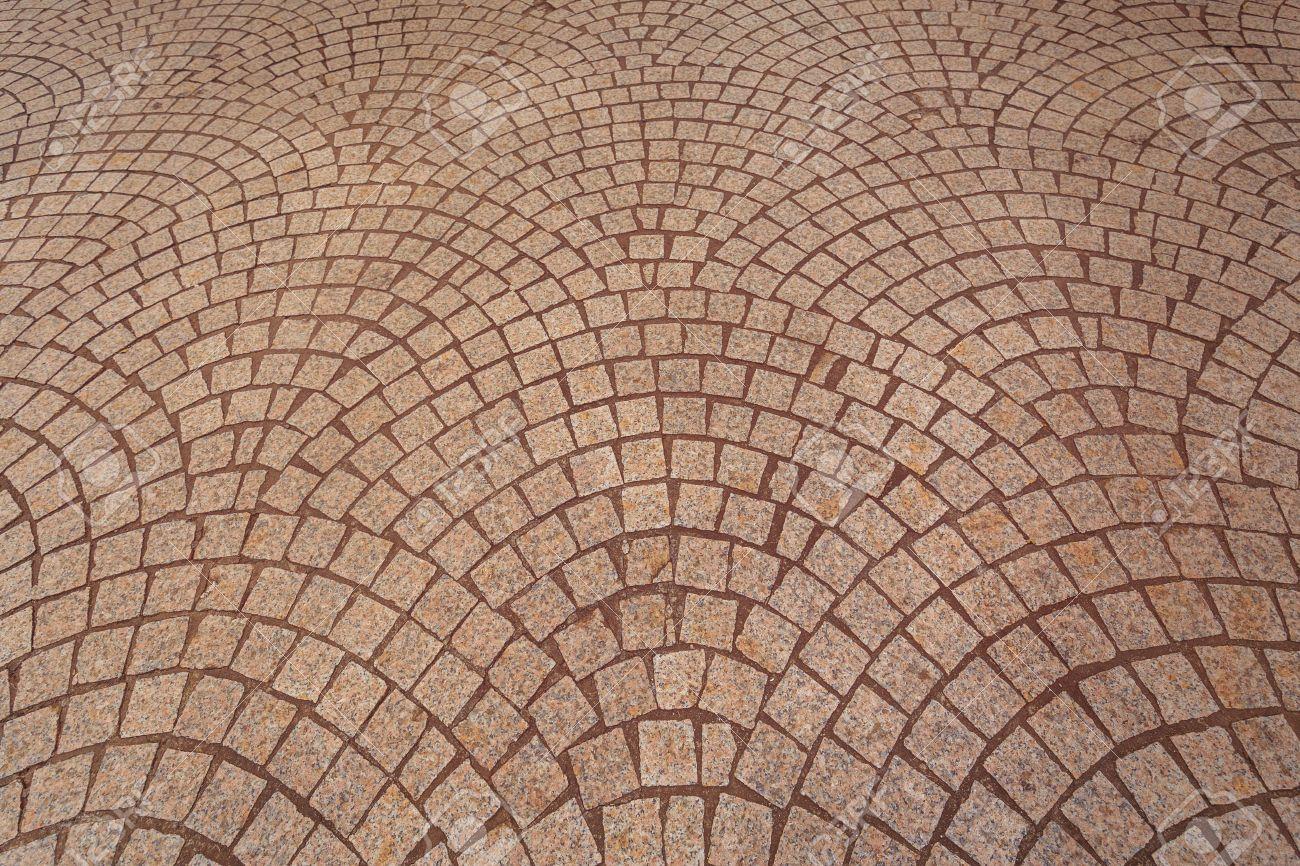 Standard Bild   Ziegel Boden Textur Hintergrund Am Mittag Licht Tag Für  Hintergrund Innen Oder Außen Ziegel Boden Dekoration Textur