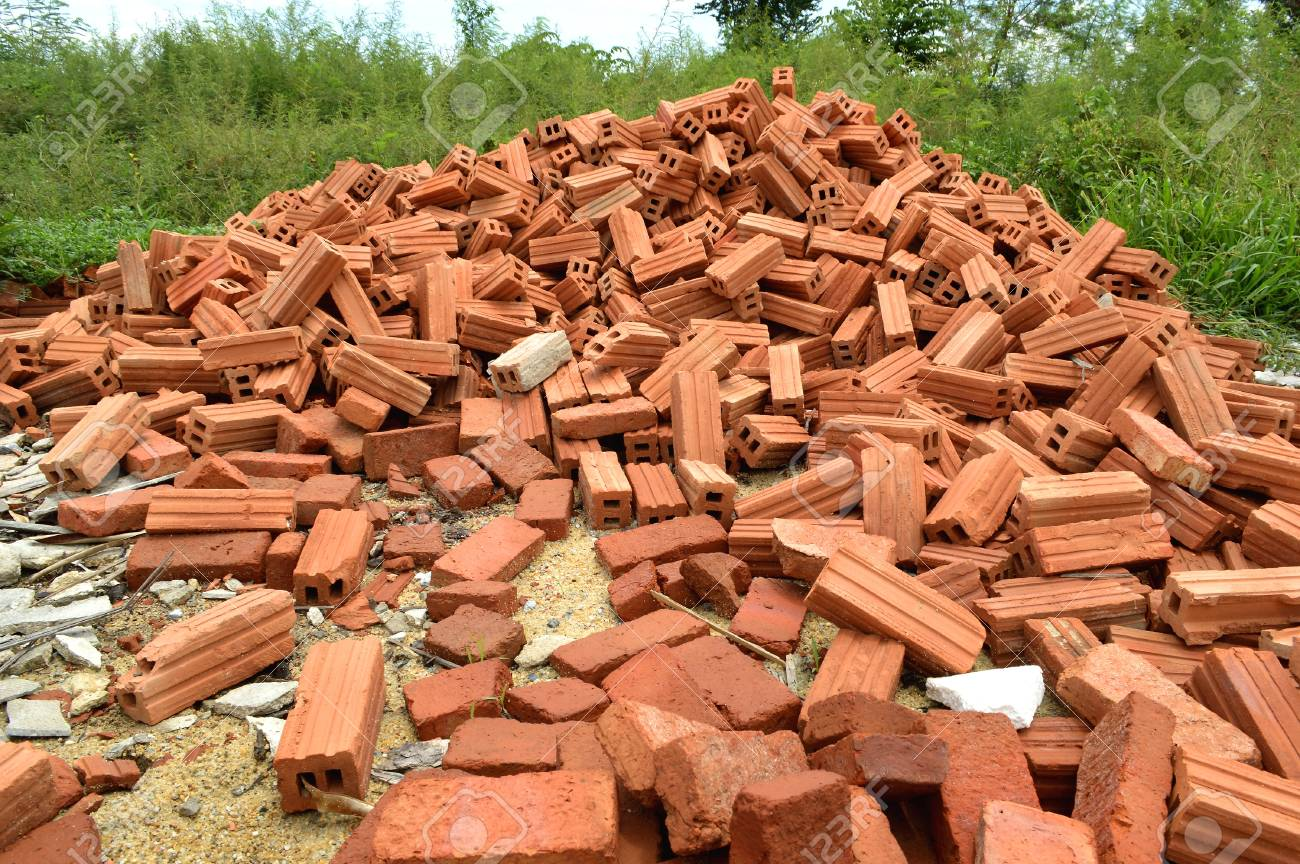 Image result for brick pile pictures