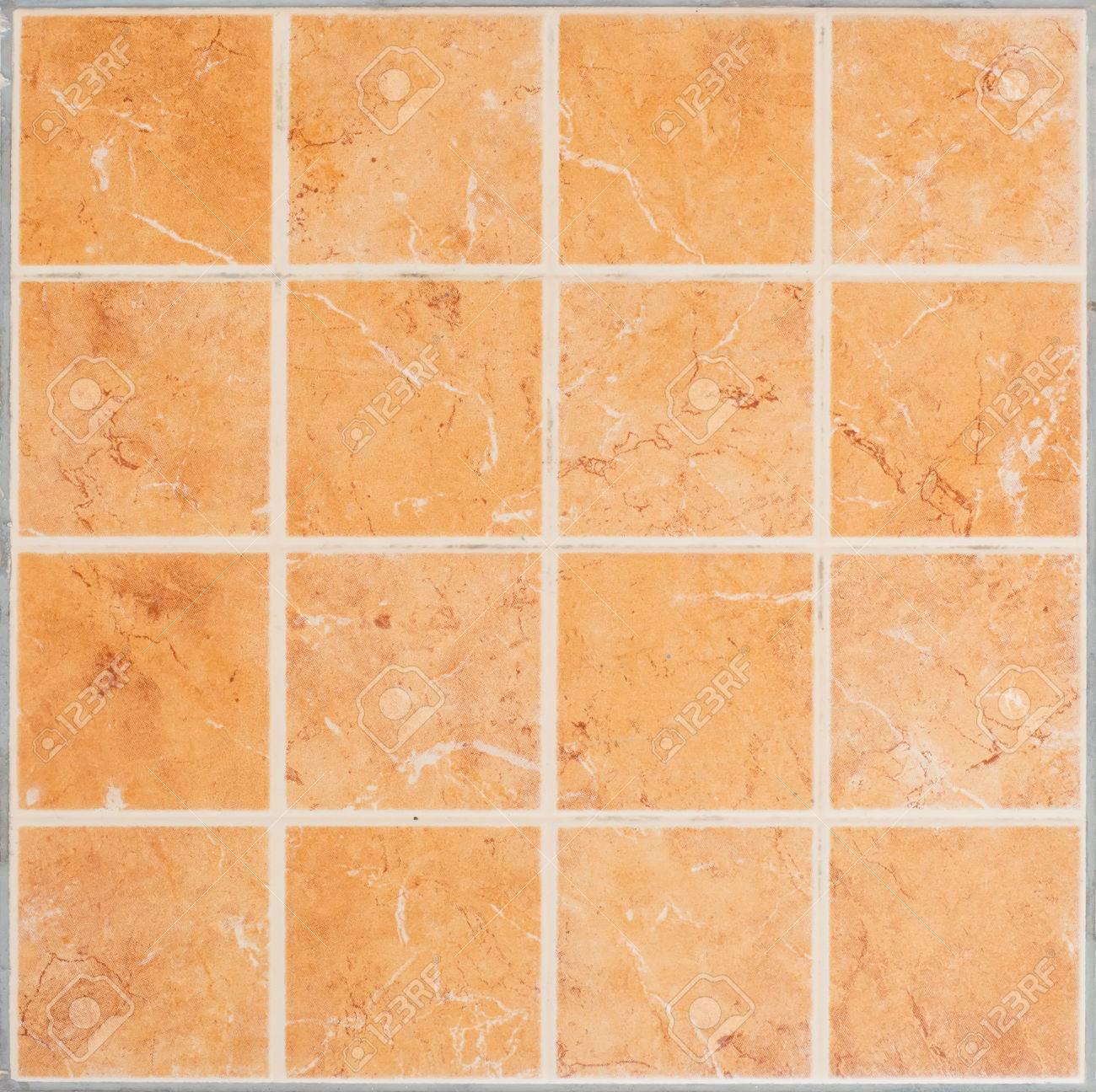 Braun Glänzend Mosaik-Fliesen-Steingut Material Im Badezimmer ...