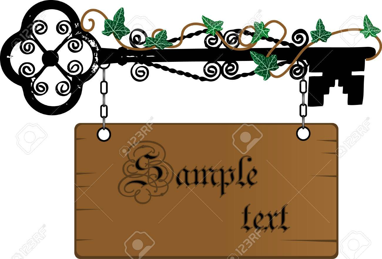 Wooden signboard for your text Stock Vector - 4958062