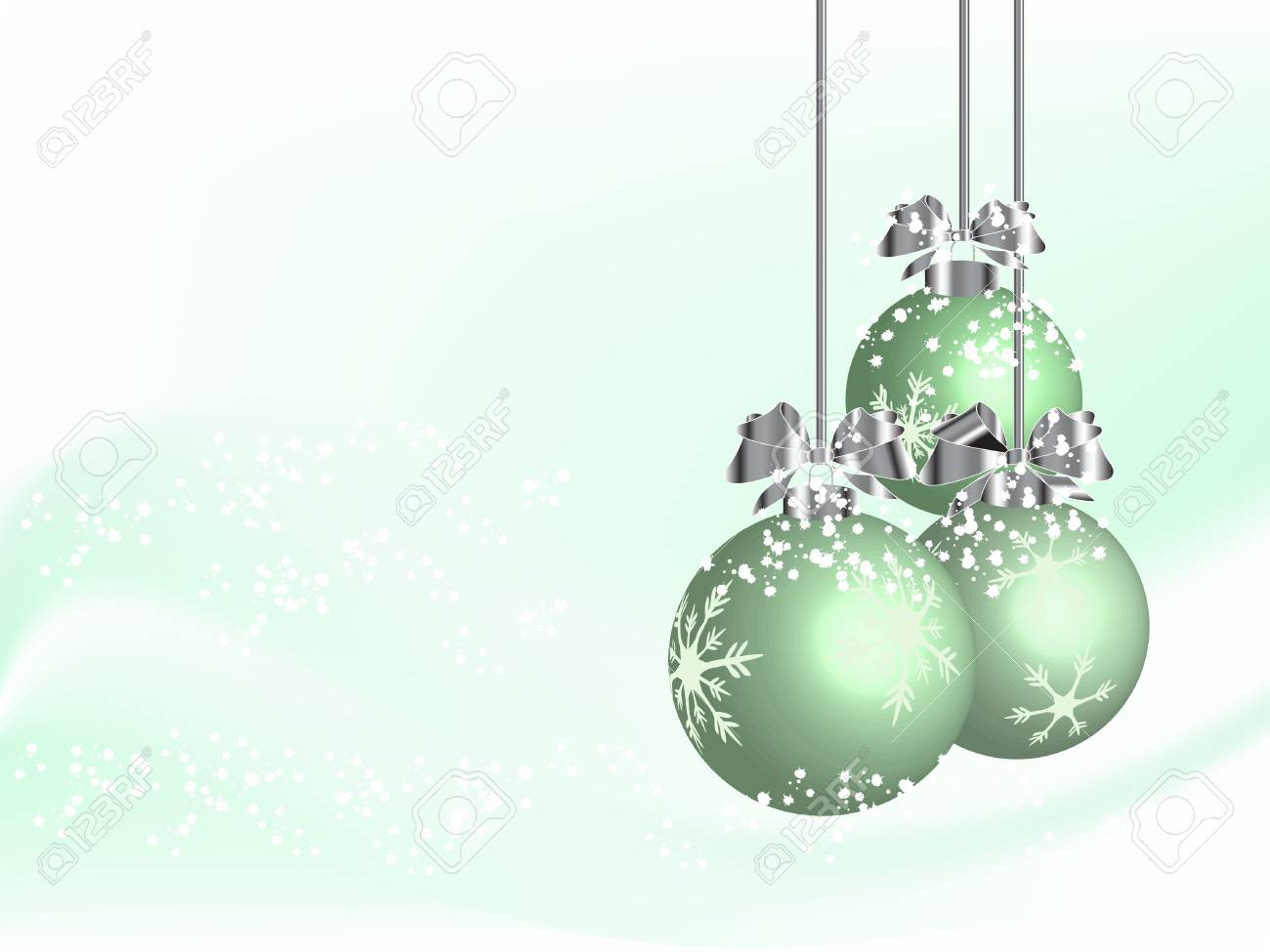 Abstract christmas background - vector illustration Stock Vector - 5773898