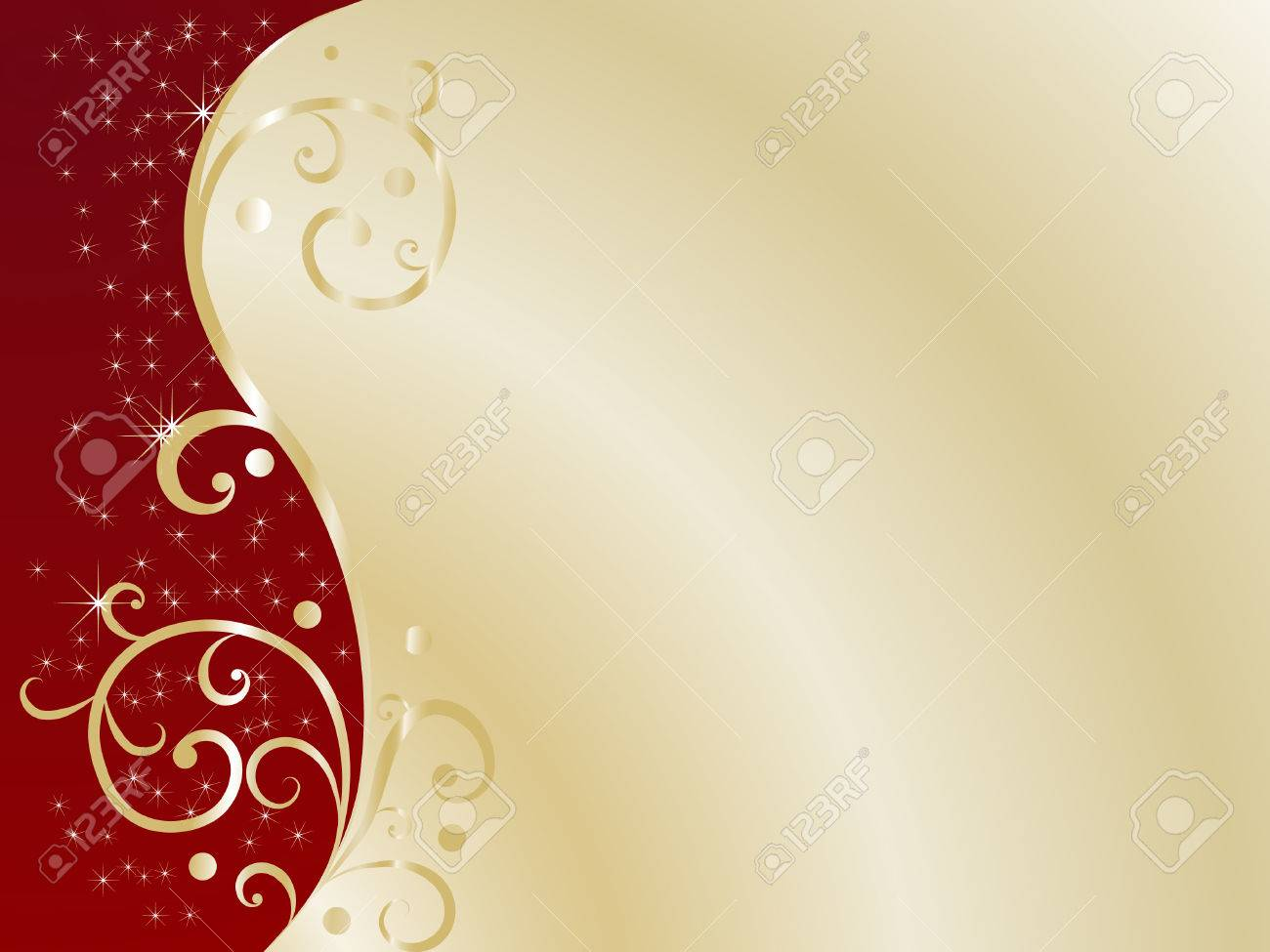 Red abstract background - vector illustration Stock Vector - 6340071