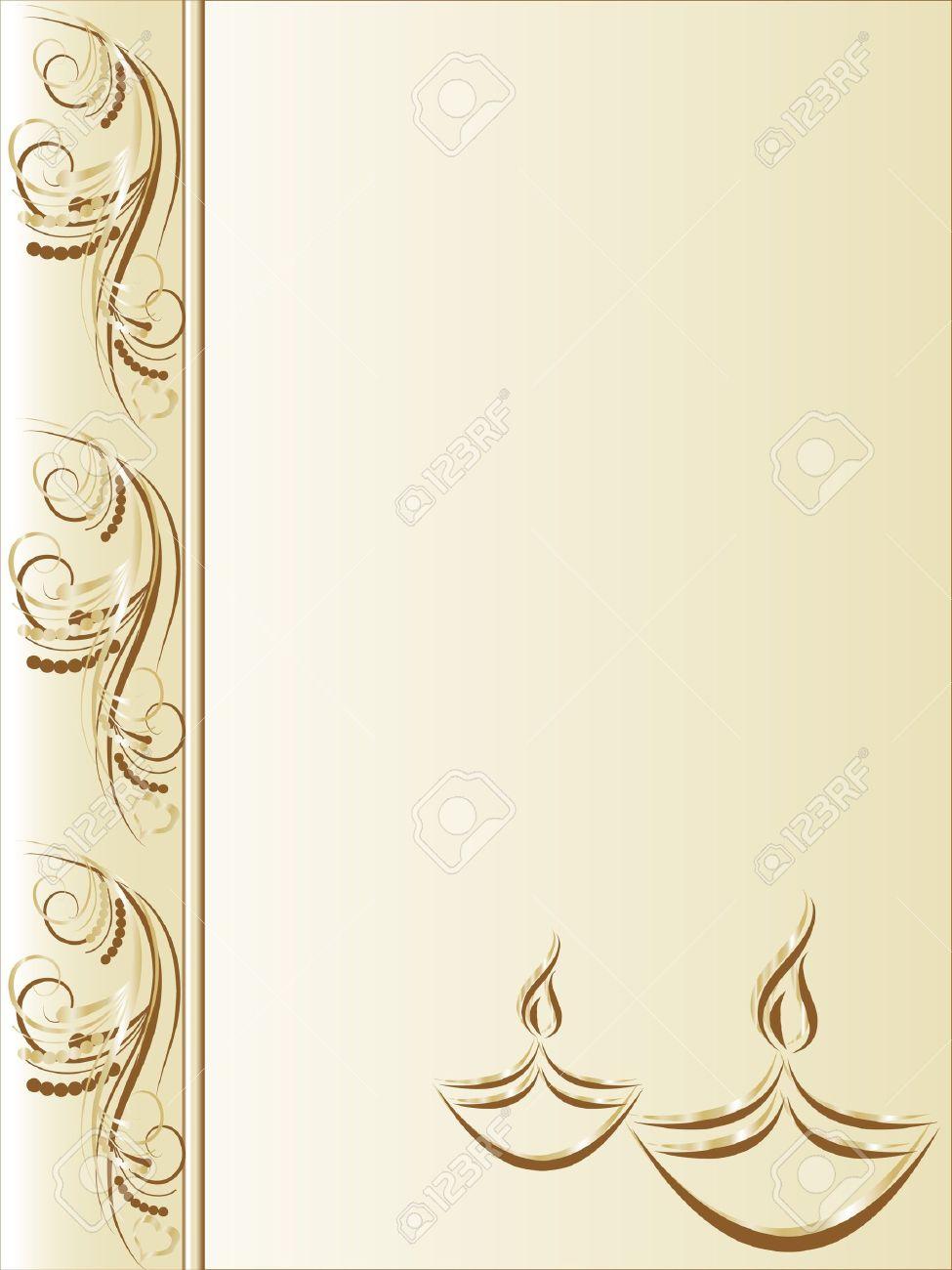 Elegant greeting card with diwali lamps royalty free cliparts elegant greeting card with diwali lamps stock vector 10829486 m4hsunfo
