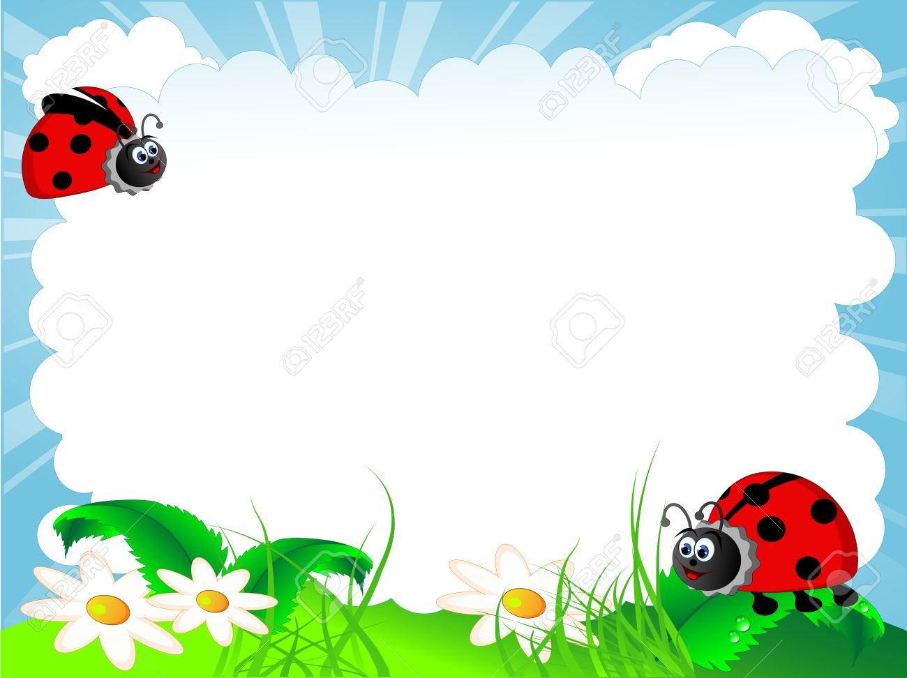Vector illustration of the ladybird and cloud royalty free cliparts vector vector illustration of the ladybird and cloud stopboris Images