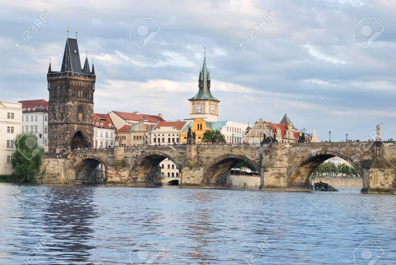 Charles bridge, Prague Stock Photo - 14256110