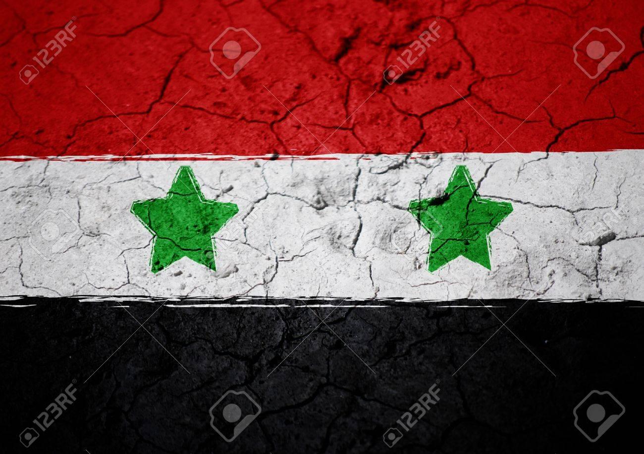 syrian flag Stock Photo - 22060694