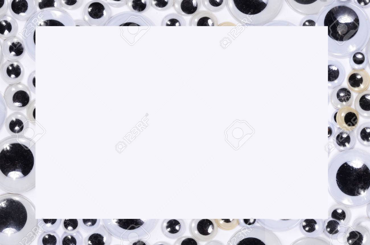 Googly Eyes Frame Stock Photo, Picture And Royalty Free Image. Image ...