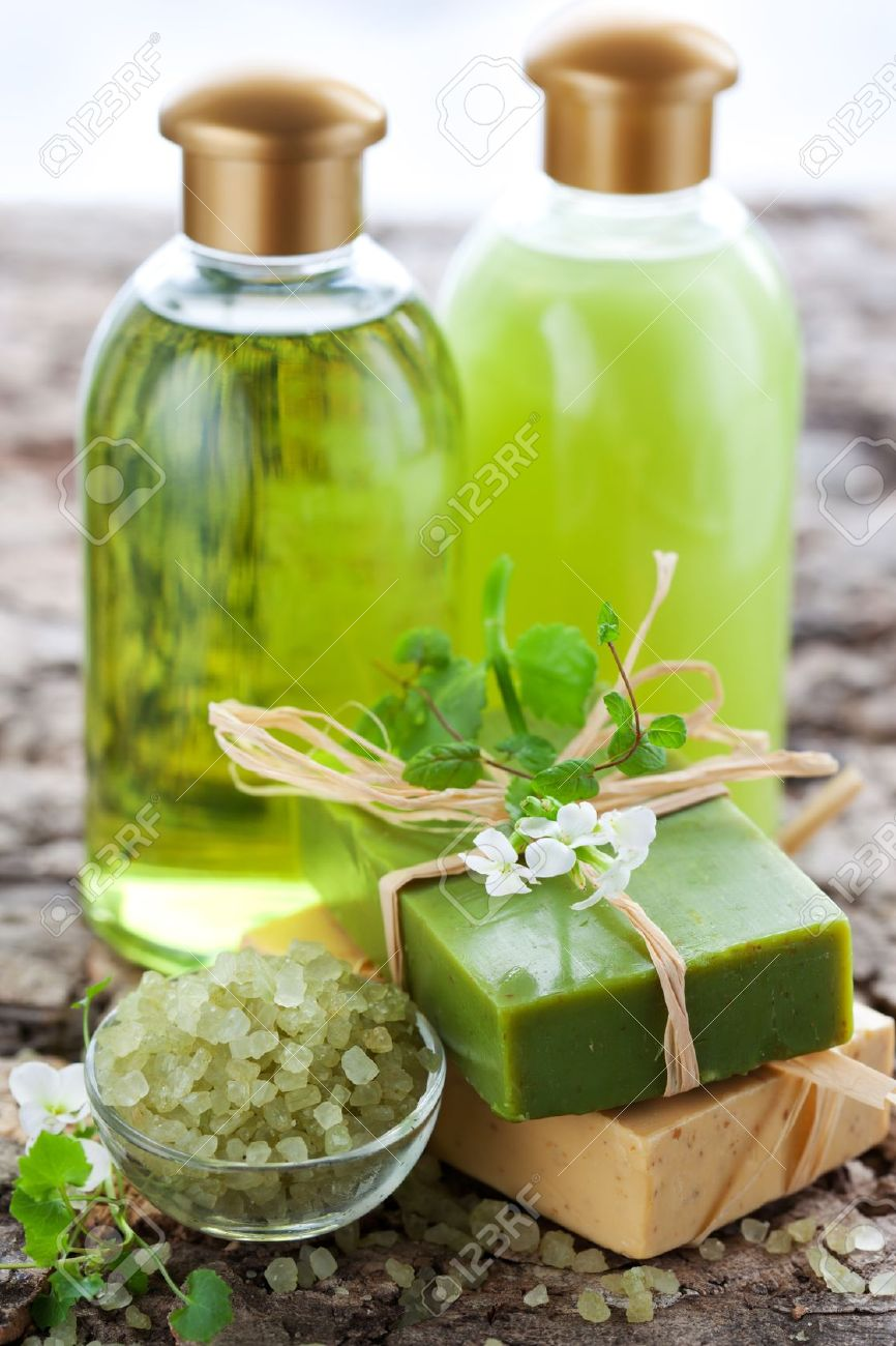 SPA and body care products Stock Photo - 9118674