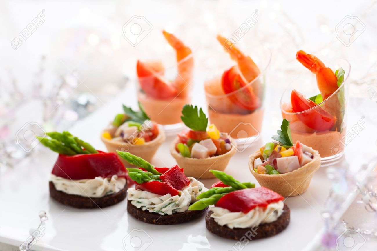 Holiday Appetizers On The Platter Stock Photo Picture And Royalty Free Image Image 16101032