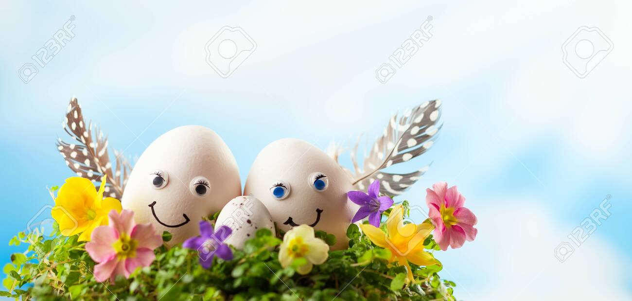 Creative Easter Egg Decoration Ideas With Funny Easter Egg Faces