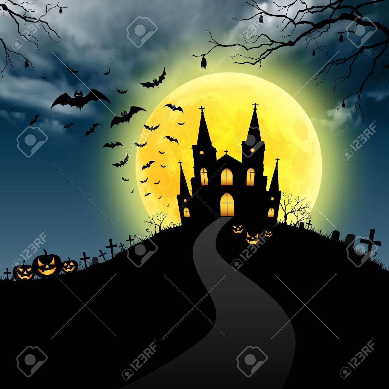 Halloween Art Stock Photo, Picture And Royalty Free Image. Image ...