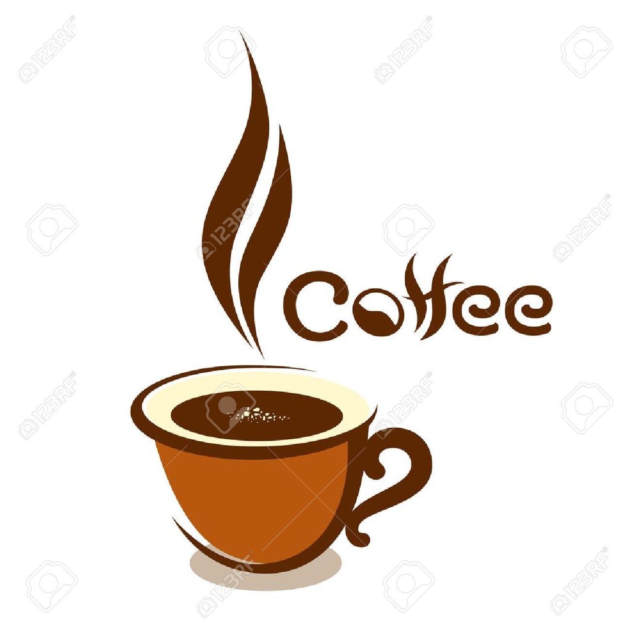 Vettoriale Caffè Tazza Disegno Illustrazione Vettoriale Image