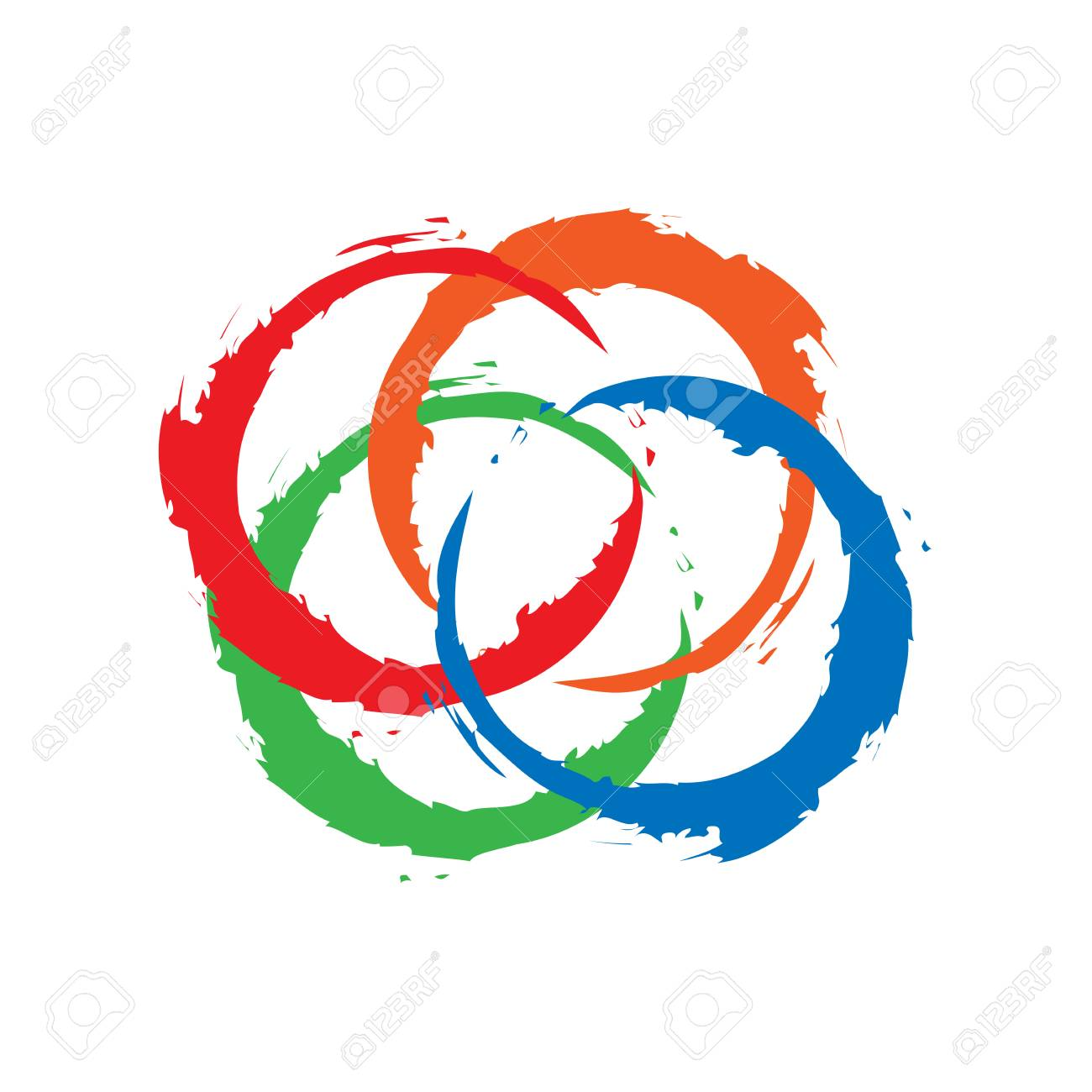 Circle Colorful Frame Icon , These Icons Are Easy To Change Colors ...