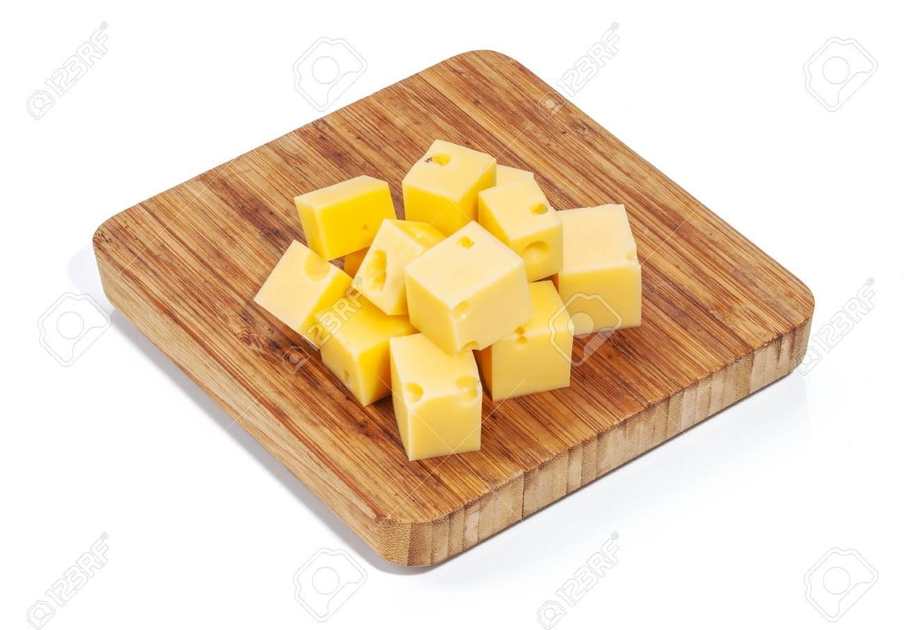 Cheese isolated and served Stock Photo - 55118193