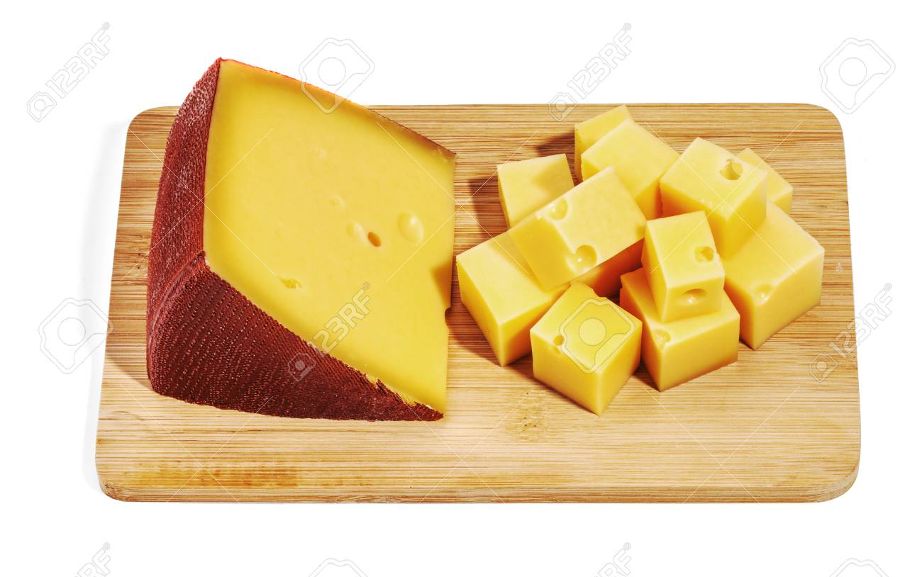 Cheese isolated and served Stock Photo - 55118195