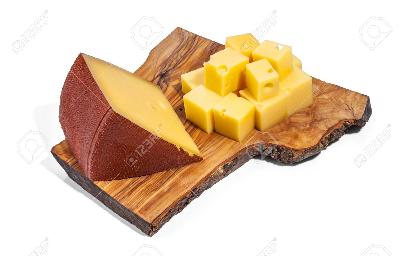 Cheese isolated and served Stock Photo - 55145203
