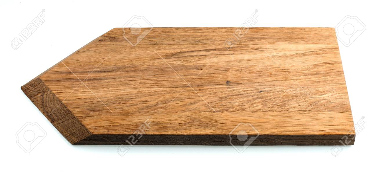 Kitchen cutting board isolated Stock Photo - 58036455