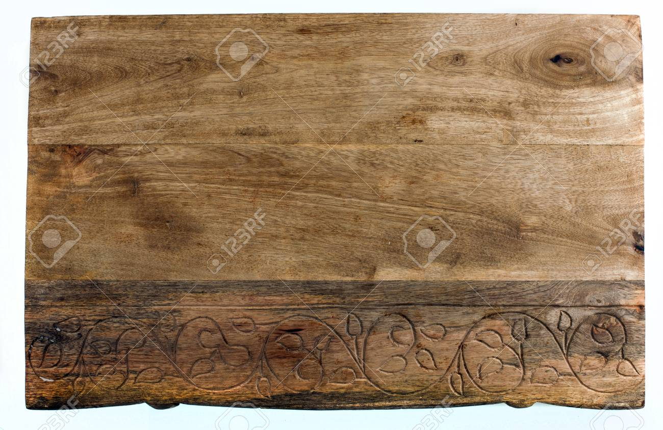 Kitchen cutting board isolated Stock Photo - 58036458
