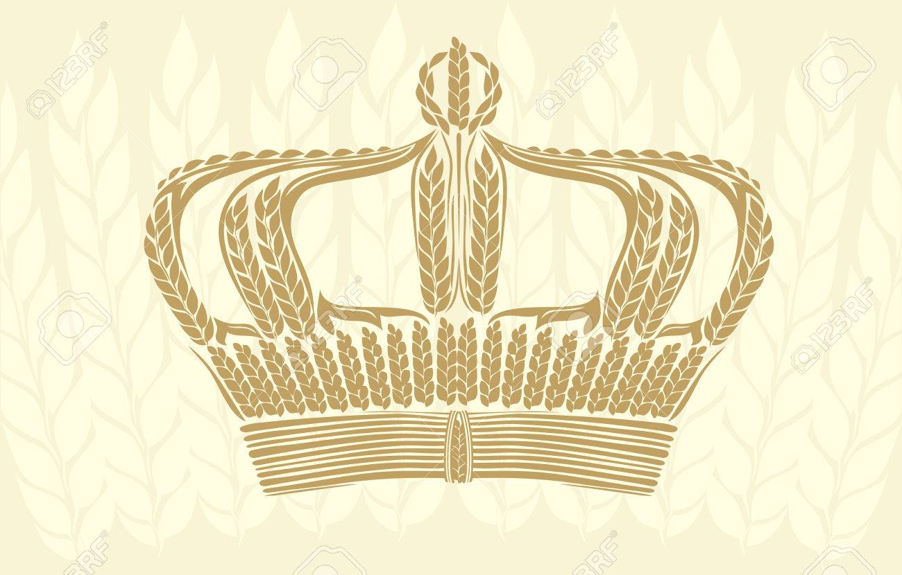 wheat crown Stock Vector - 4070021