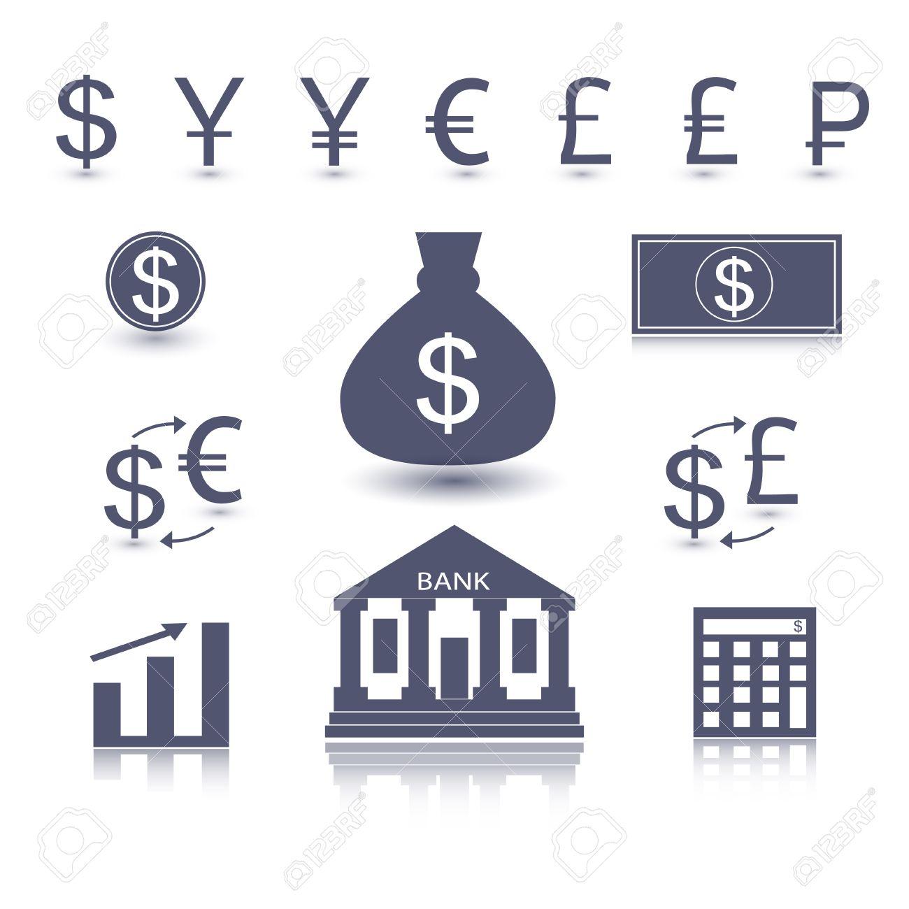 Currency signs dollar euro yen yuan pound lira rouble pound currency signs dollar euro yen yuan pound lira rouble pound vector money symbol biocorpaavc Gallery