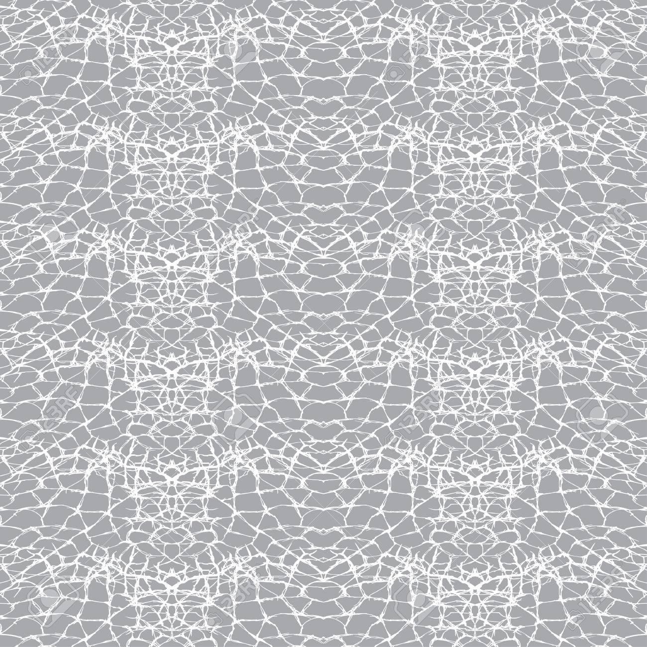 Sin Patrón, Fondo Geométrico Abstracto, Textura Agrietada. Dibujado ...