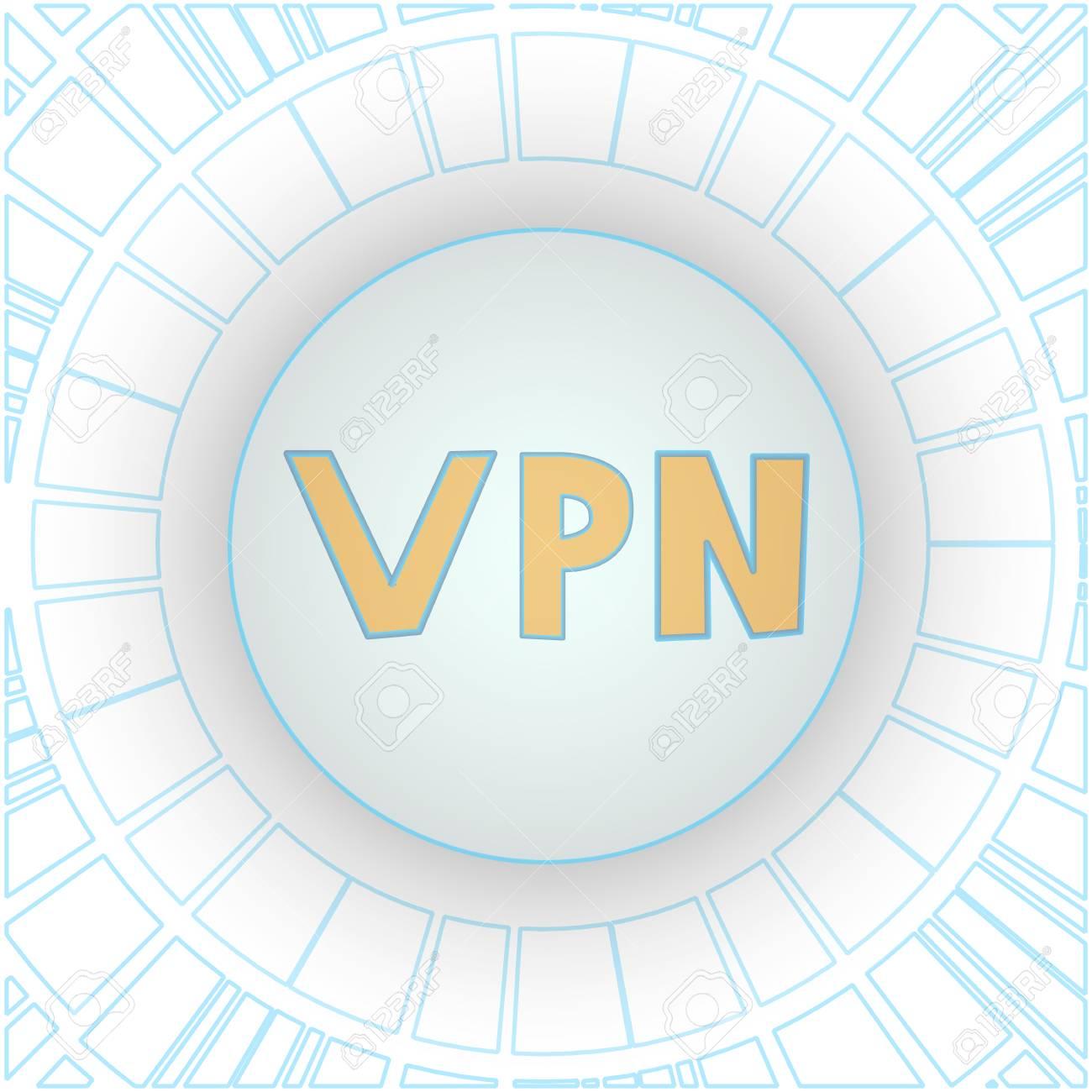 Encryption of Internet traffic using VPN technology  Quad menu