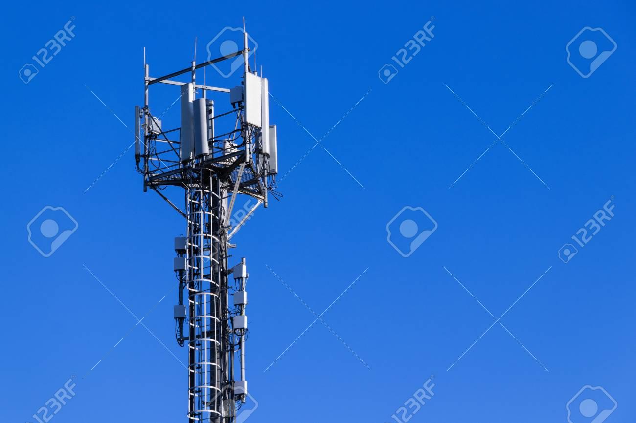 Base station network operator. 5G. 4G, 3G mobile technologies. - 125733228