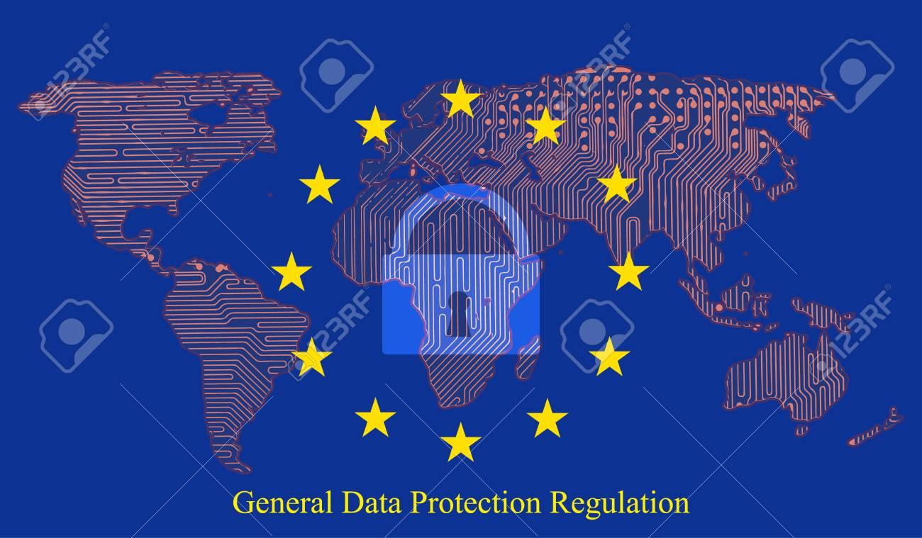 Circuito General : Regulación de protección de datos generales gdpr con candado