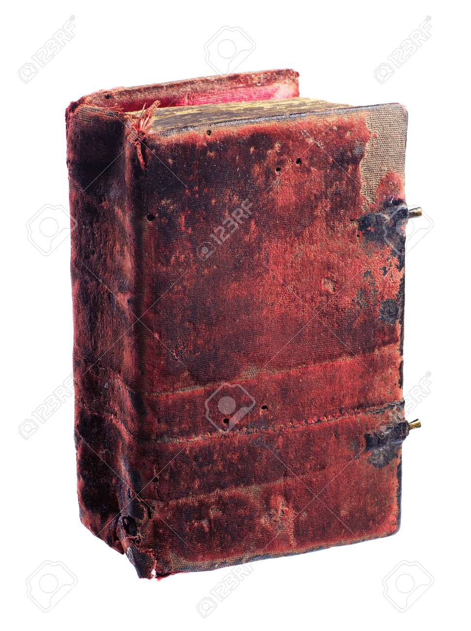 The old book isolated on a white background Stock Photo - 17389654
