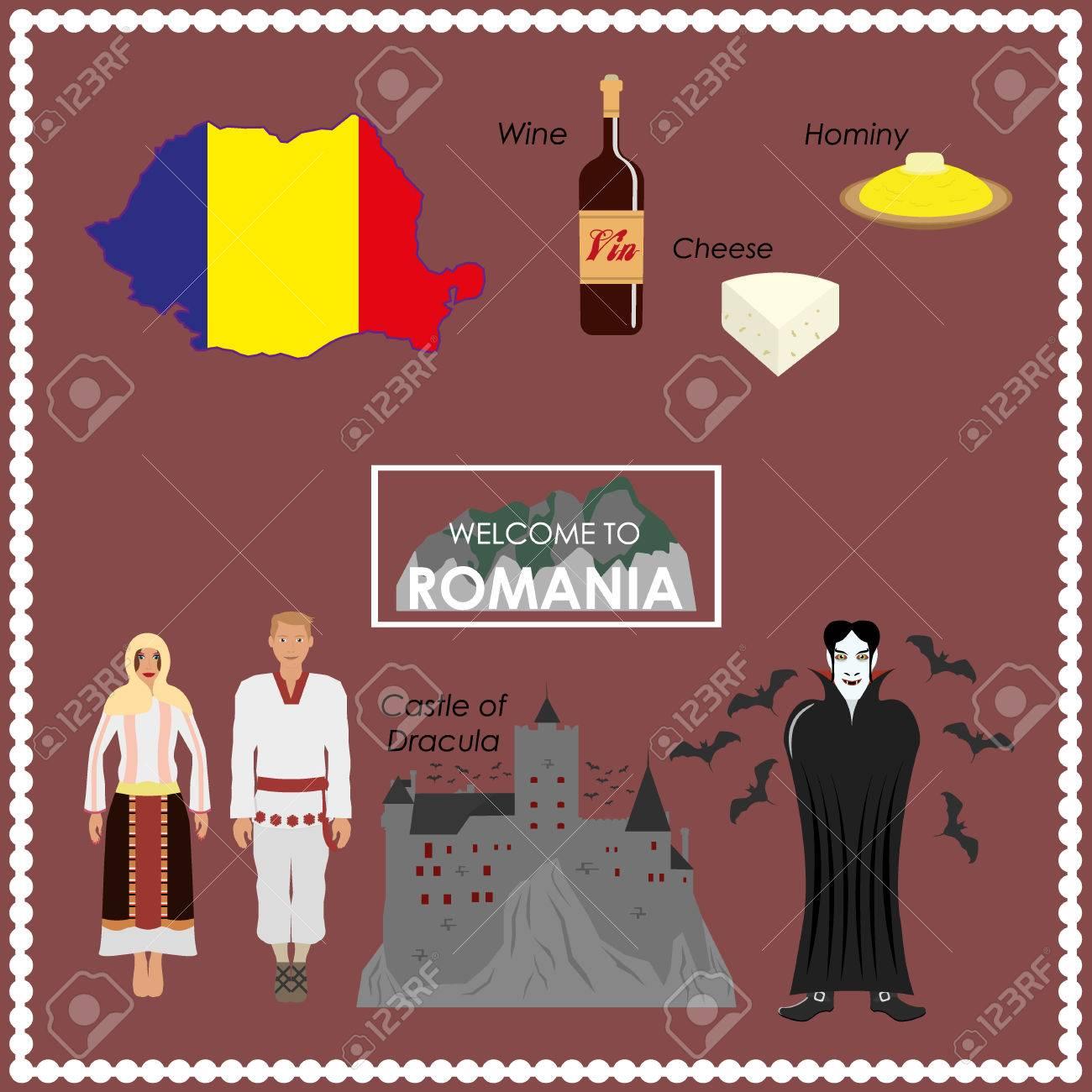Romania infographics - 43567716