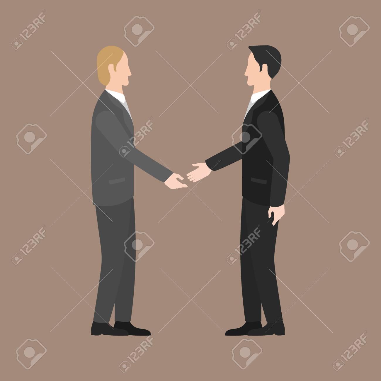 Businessman shaking hands - 44331328