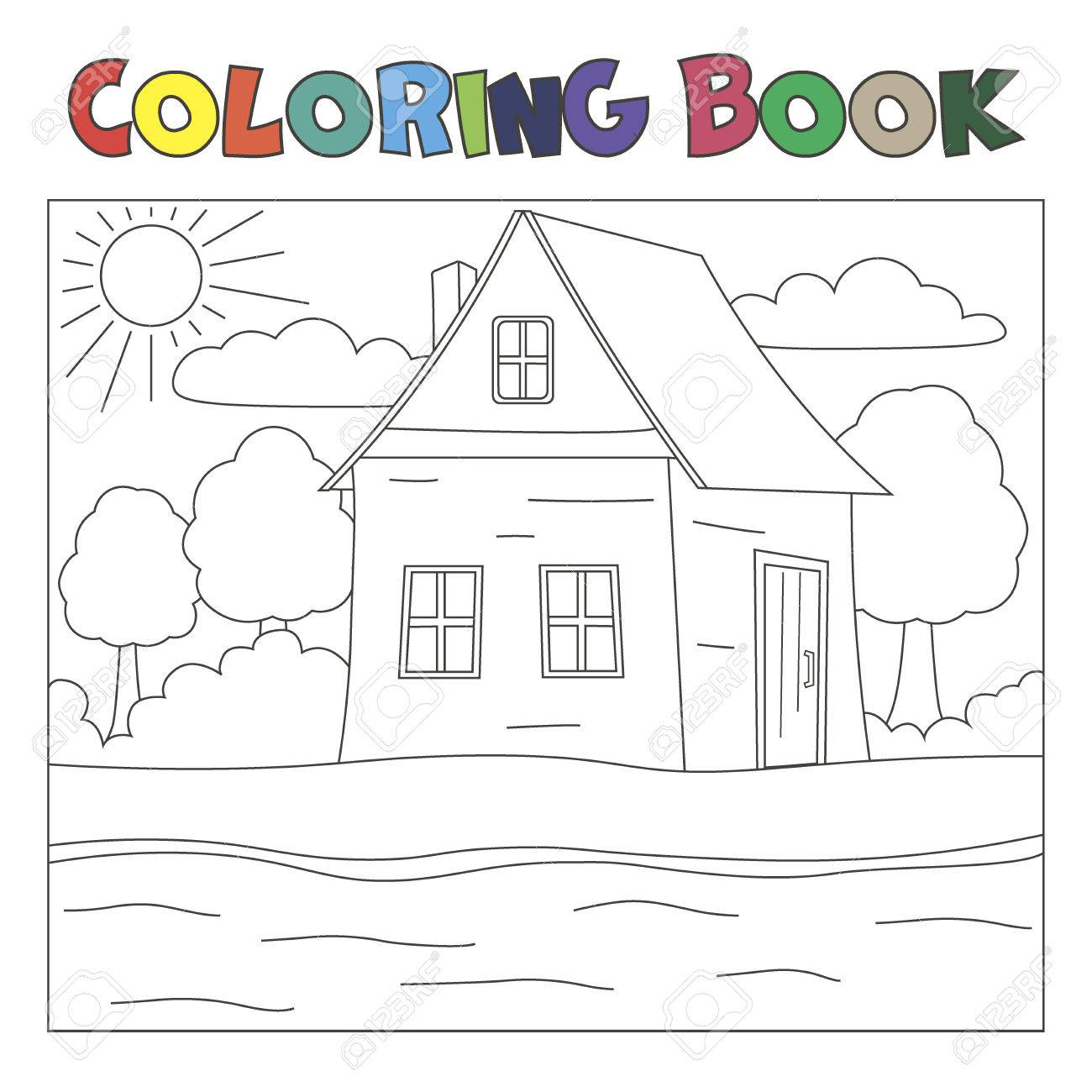 93+ Hay House Coloring Book Picture HD