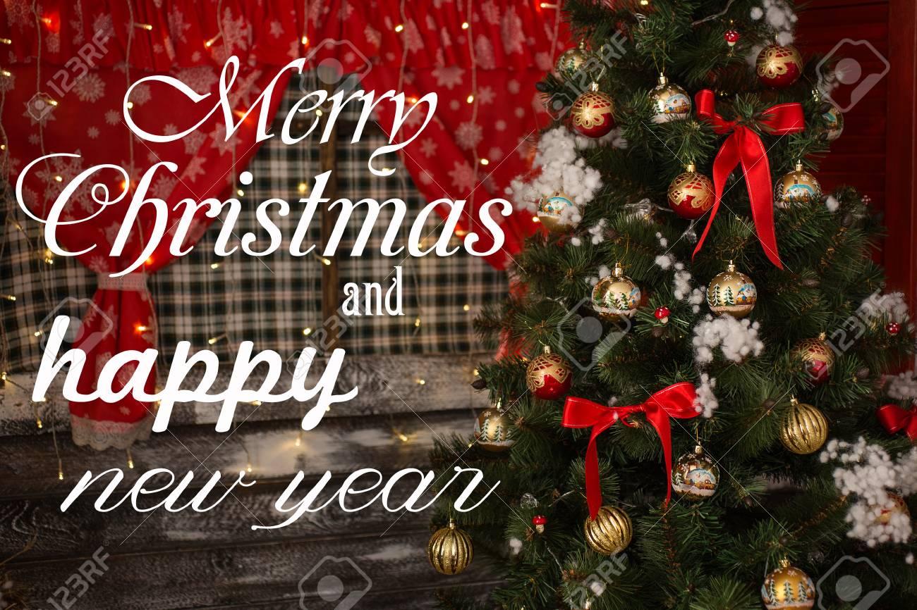 Foto E Auguri Di Buon Natale.Immagini Stock Buon Natale E Auguri Di Buon Anno C E Un