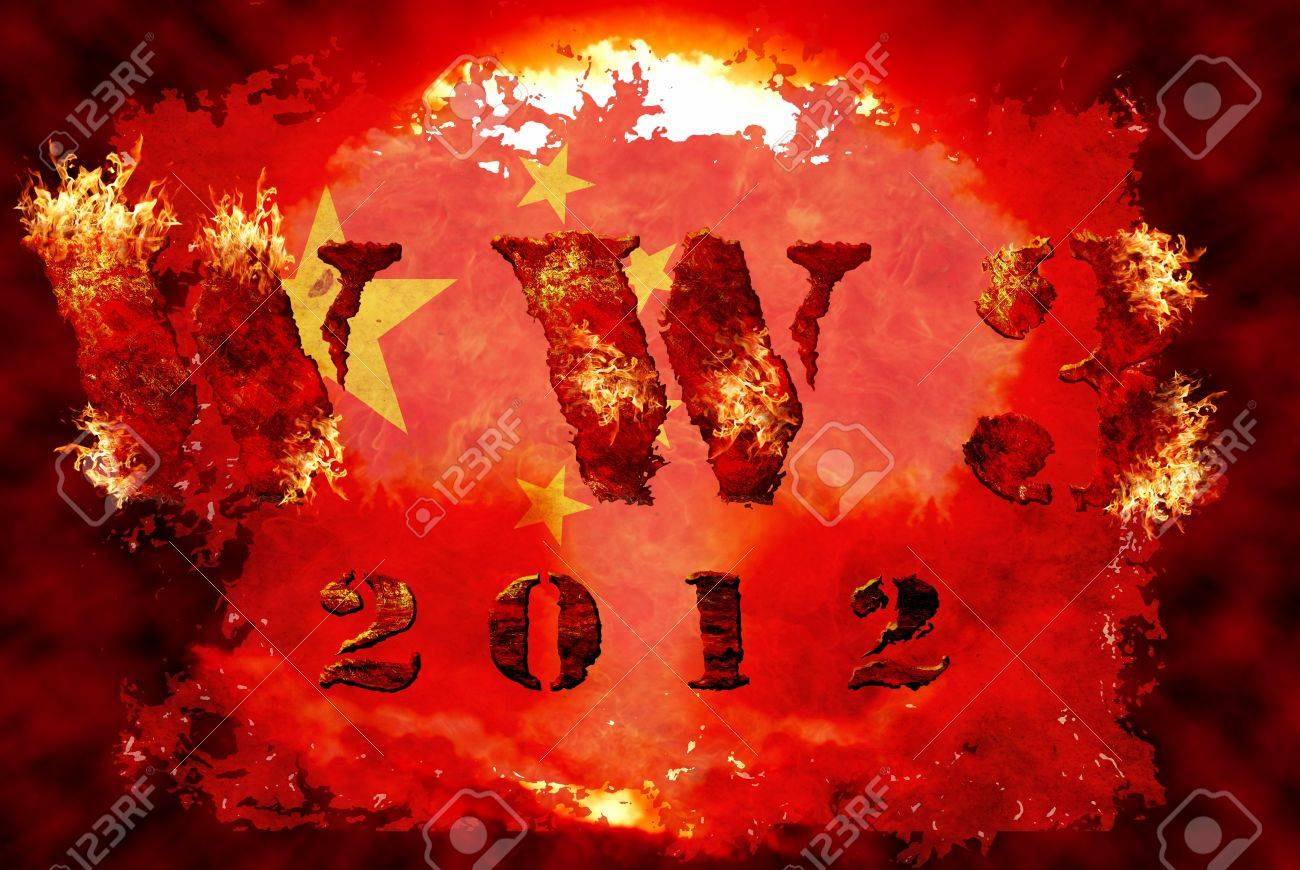 World war 3 nuclear background, a sensitive world issue, useful for various icon, banner, background, global economy conceptual design. Stock Photo - 12649256