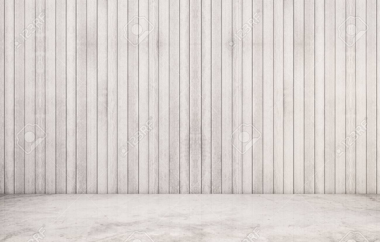 White polished concrete floor with wood wall Stock Photo   54337406. White Polished Concrete Floor With Wood Wall Stock Photo  Picture