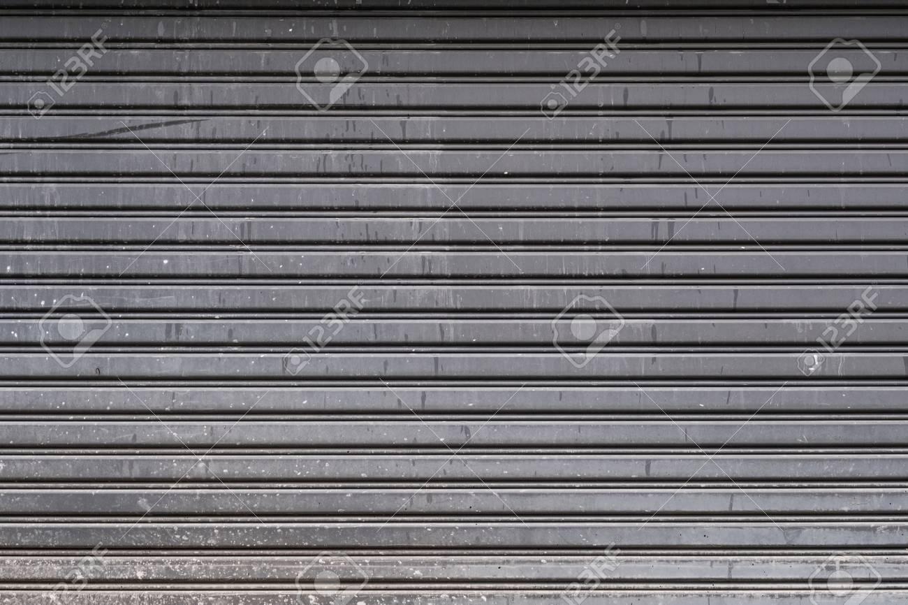 garage door texture. Beautiful Texture Old Steel Garage Door Stripped Texture Horizontal Lines Stock Photo   60143588 Inside Garage Door Texture