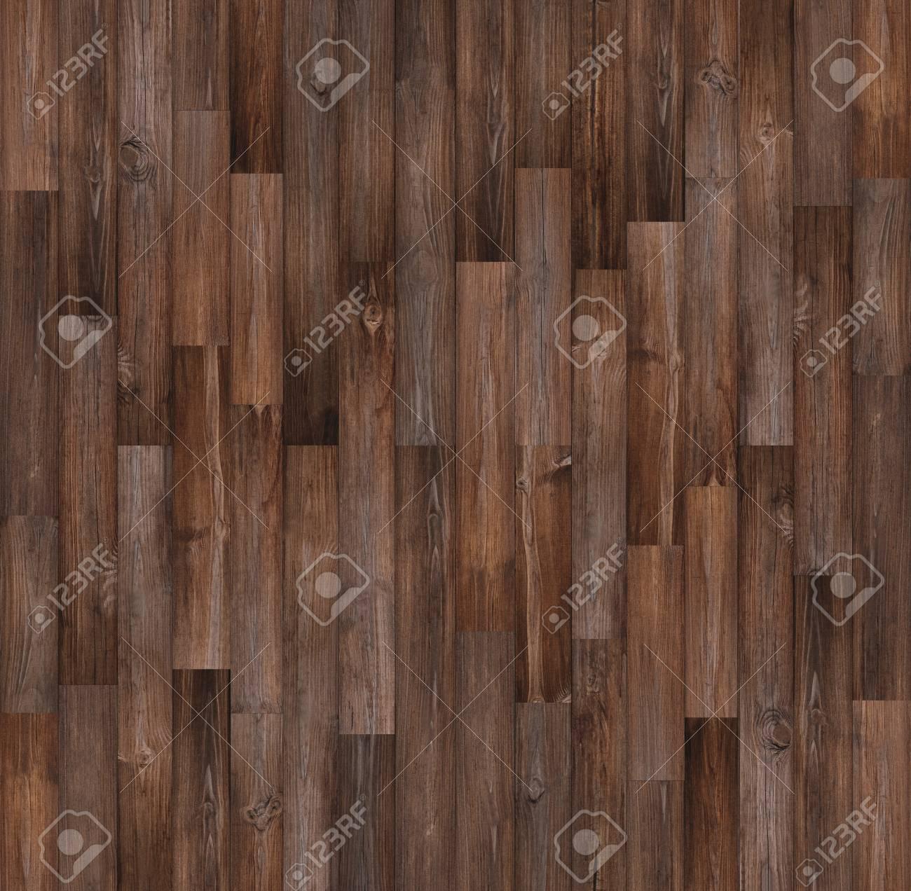 seamless wood floor texture. Dark Wood Floor Texture Background, Seamless Stock Photo - 91306298