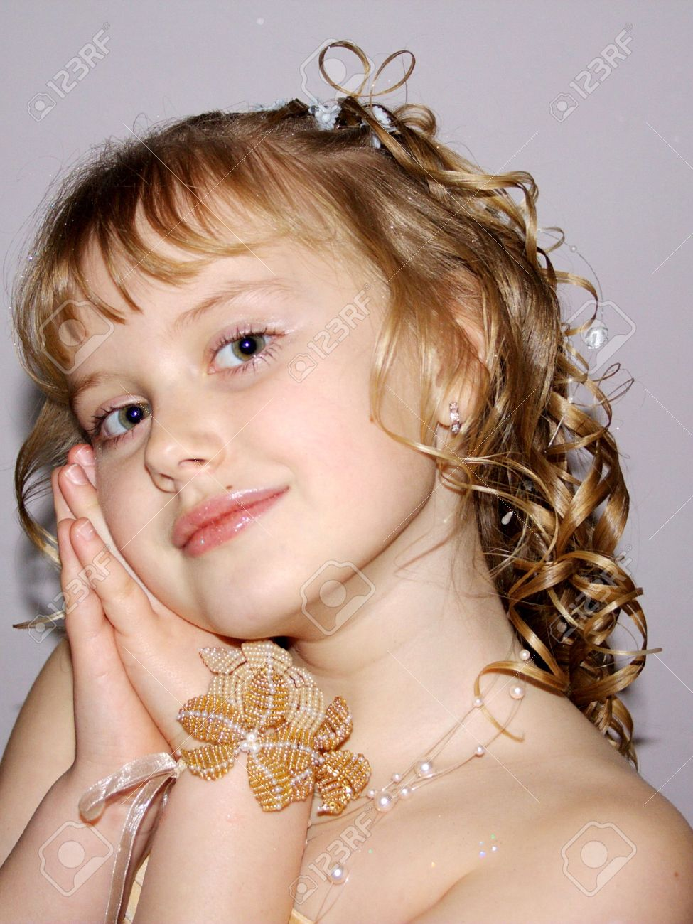 young model girl looking at camera stock photo picture and royalty